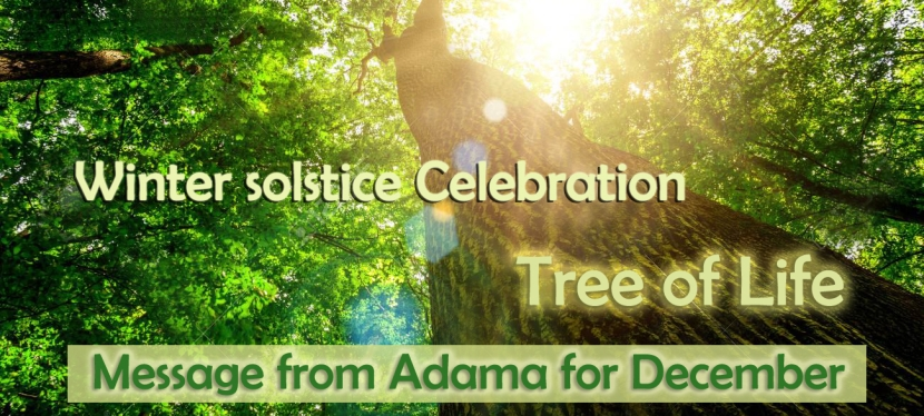 Celebration of the Winter Solstice   —   The Tree of Life within you