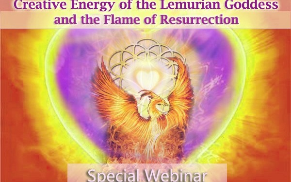 Integration of the Creative Energy of the Lemurian Goddess